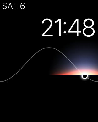 Apple Watch: Solar watch face