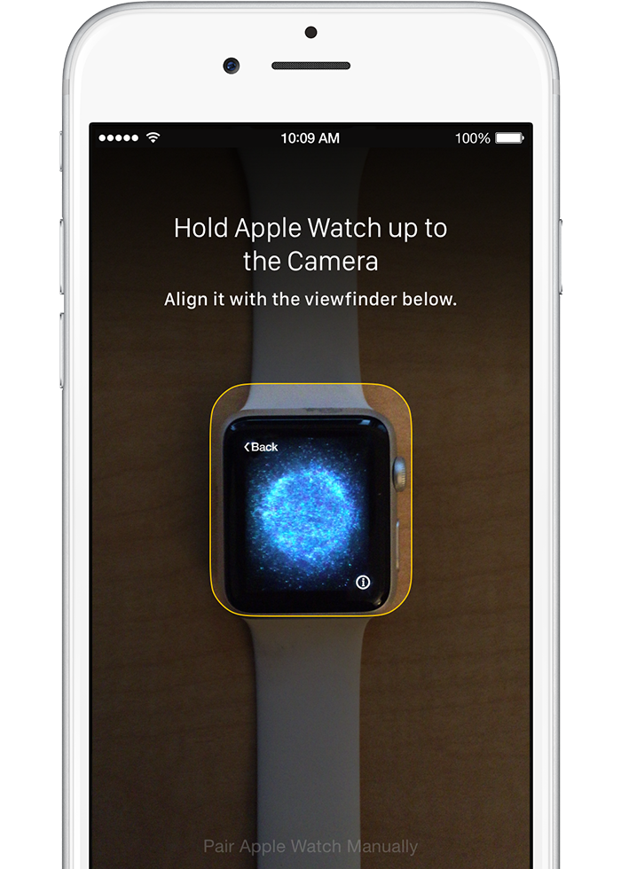 Apple Watch: Pairing
